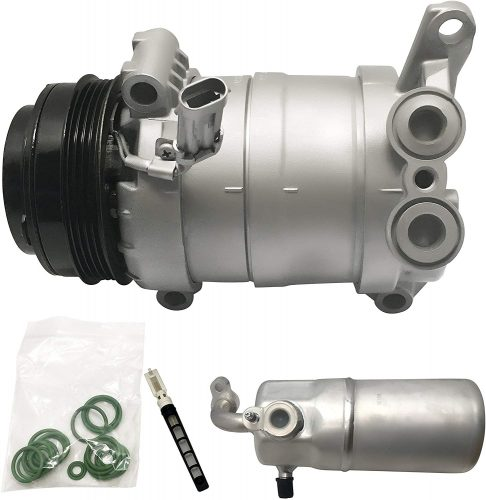 RYC Remanufactured AC Compressor and A/C Clutch Kit EG901K1