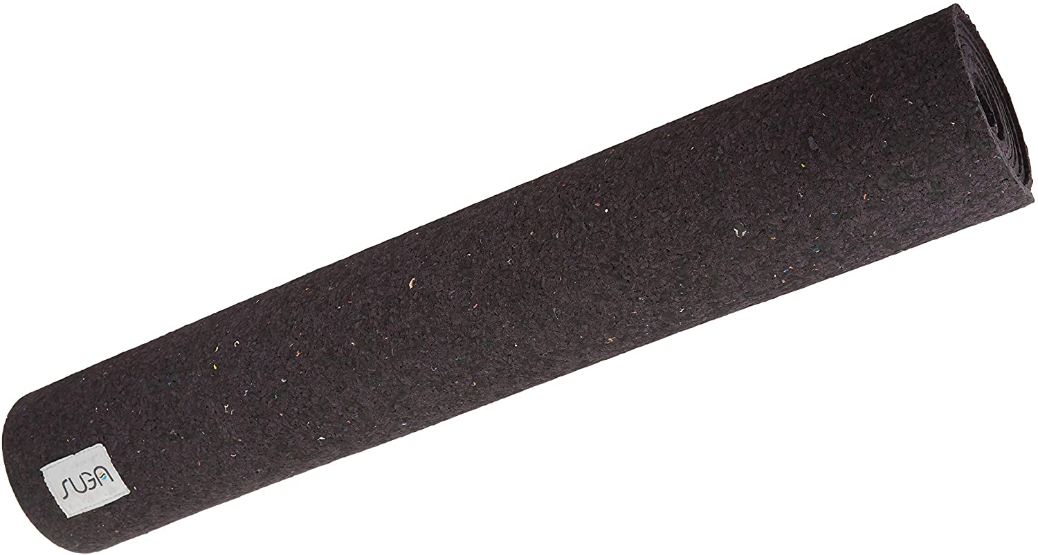 SUGA Recycled Wetsuit Yoga Mat - Non-Slip + Recycled + Made in USA + Antimicrobial