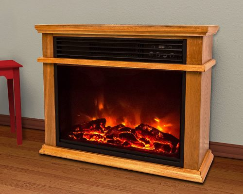 Lifesmart Easy Large Room Infrared Fireplace