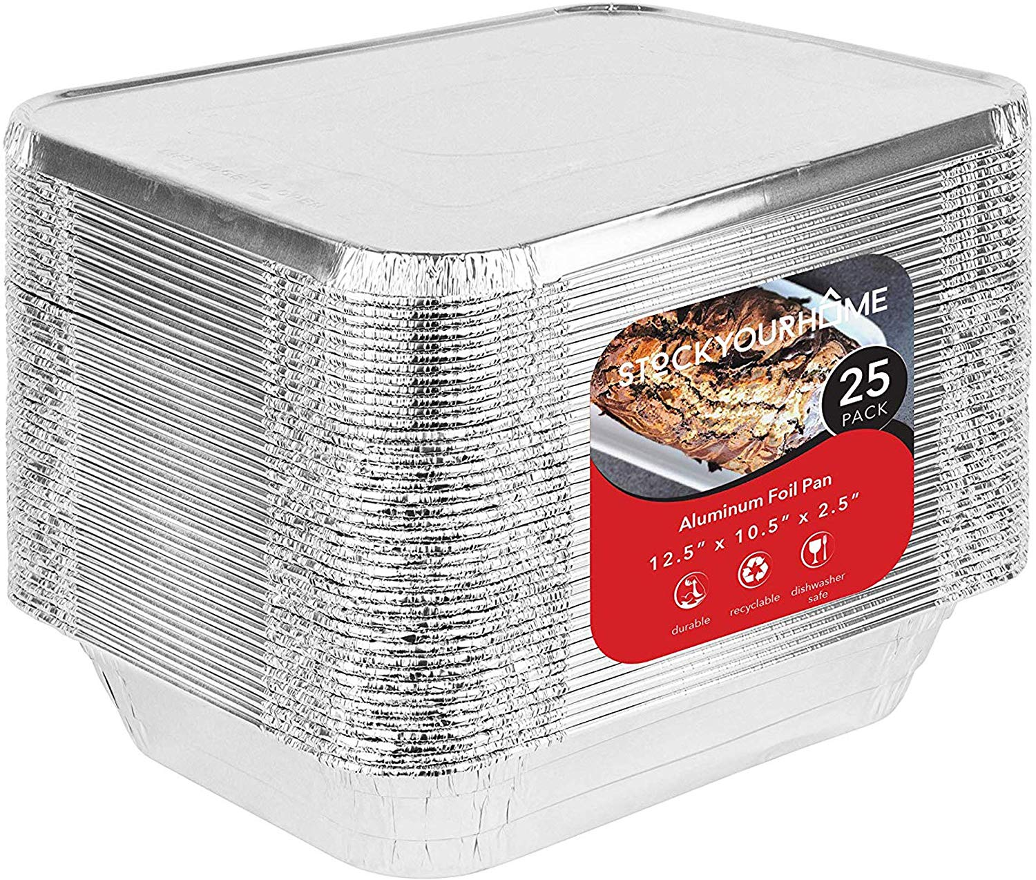 1. Stock Your Home Foil Pans with Lids