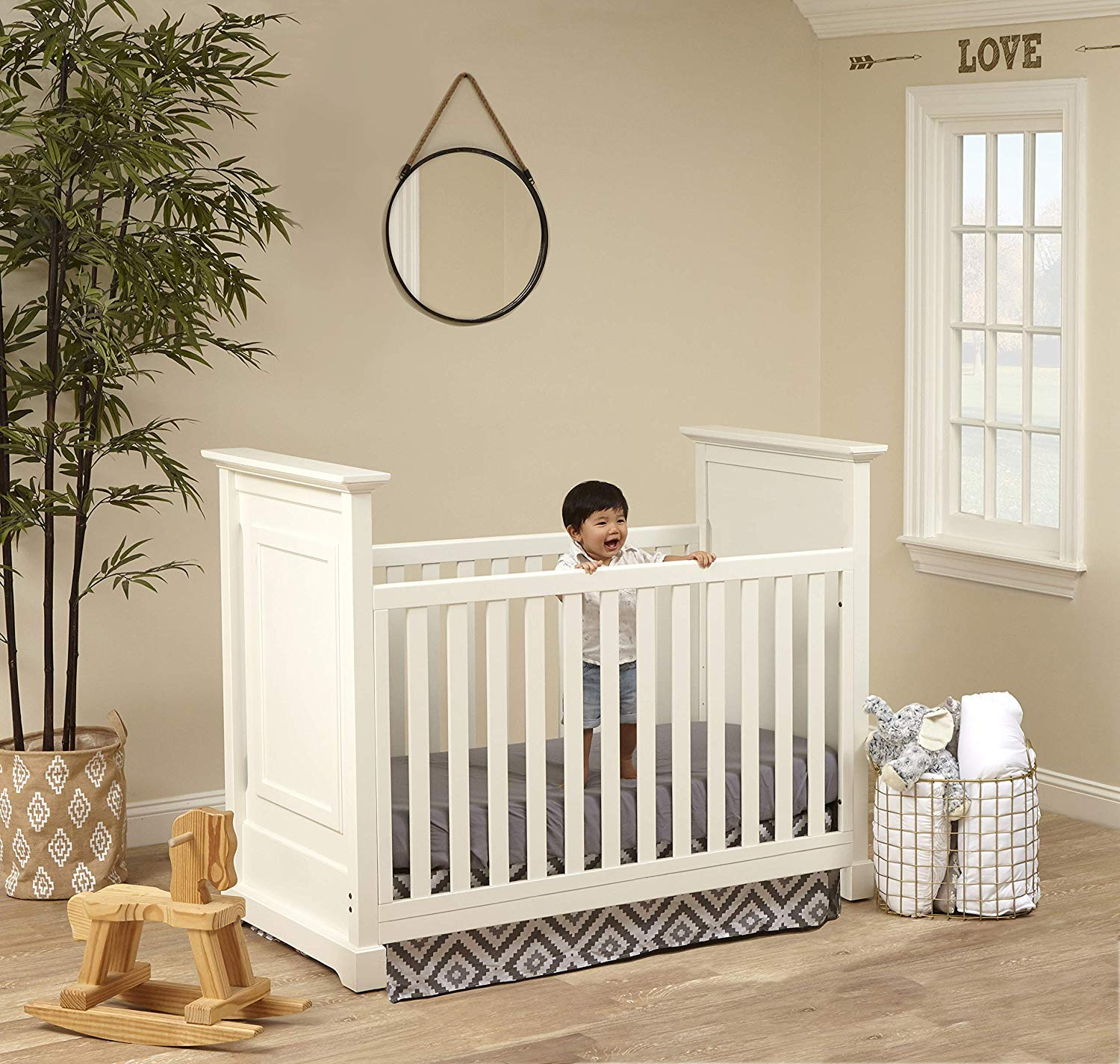 Baby Cache Cape Cod 3-in-1 Convertible Island Baby Crib