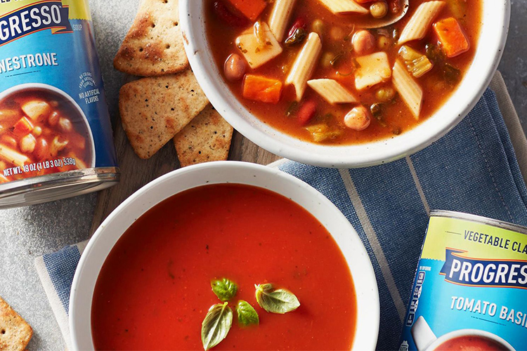 Canned Vegetable Soup