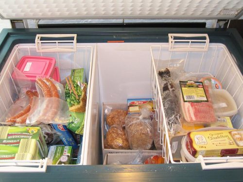 Differences between the deep freezer and upright freezer