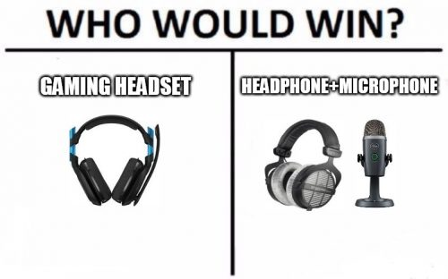 Gaming Headset Vs. Headphone and Mic, what is the difference?