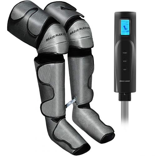 Foot and Leg Massager for Circulation with Knee Heat