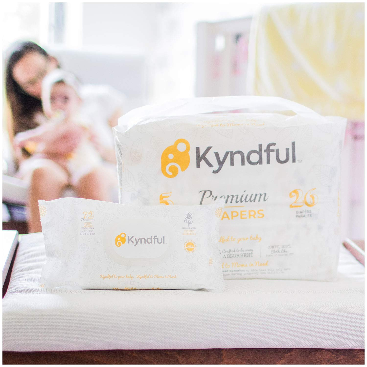 1. (1-Month Bundle) Kyndful Organic Diapers