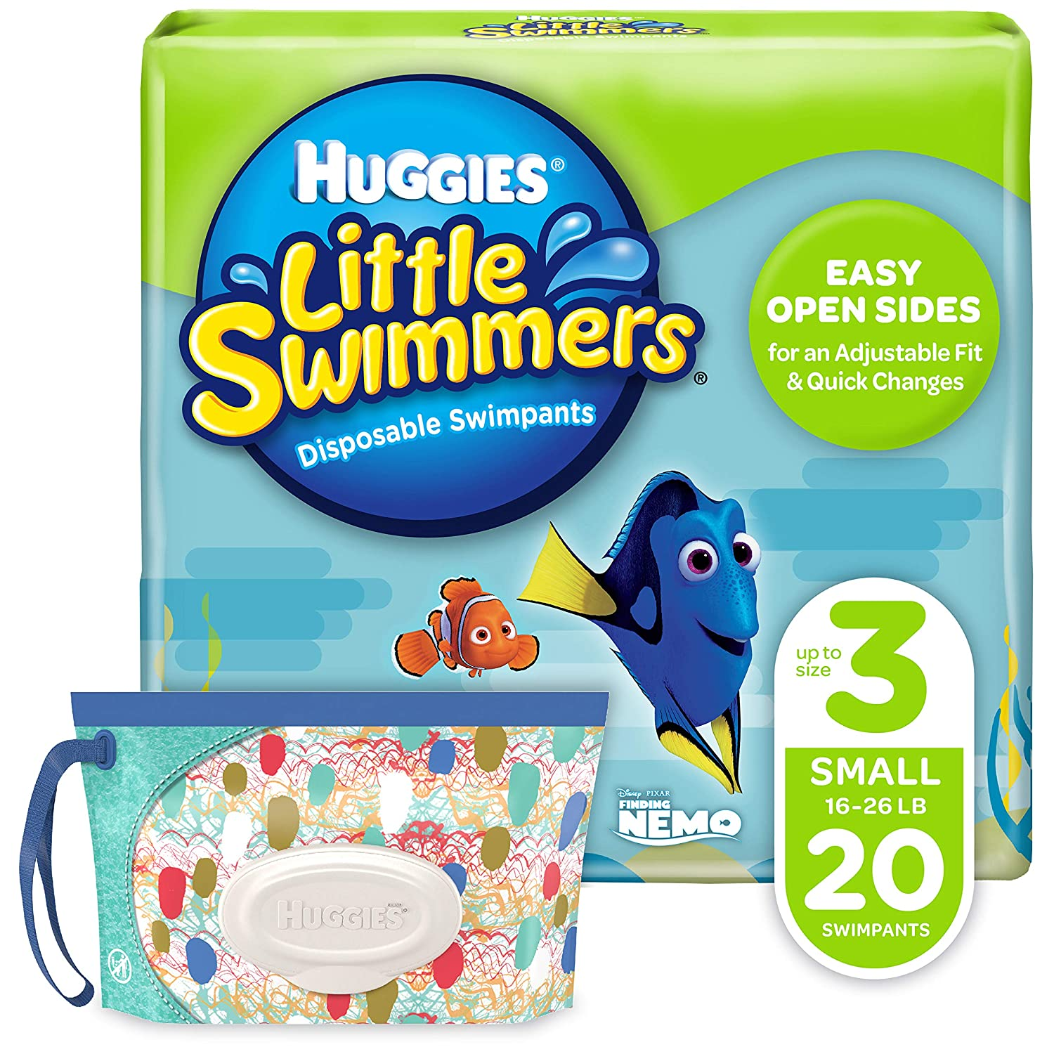 9 Huggies Little Swimmers Disposable Swim Diaper