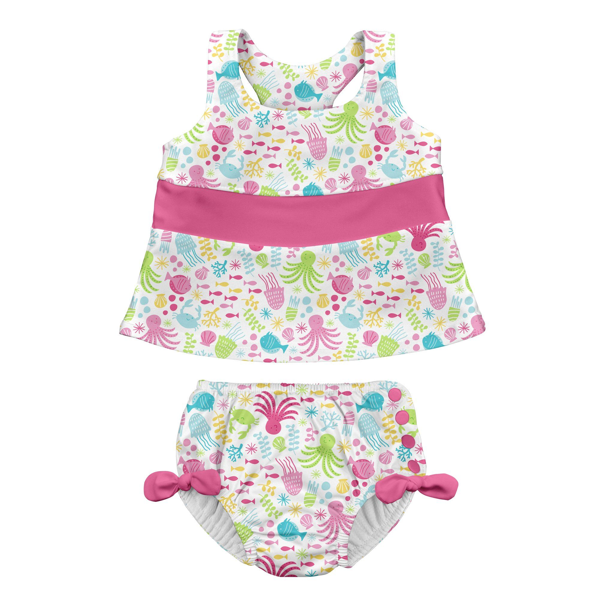 2. I play. by green sprouts, Baby Tankini Set