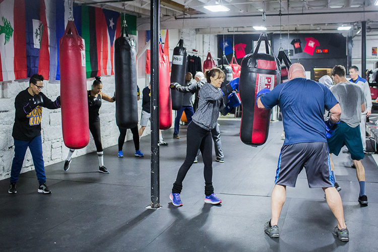 Gyms with Punching Bag