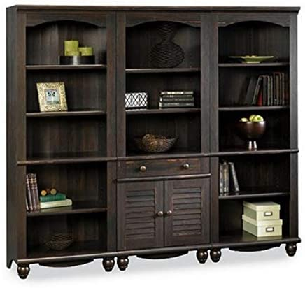 Sauder Harbor View Library Wall Bookcase | Wall Unit Bookcase