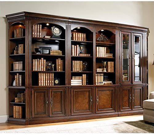 Hooker Furniture European Renaissance II Wall Bookcase Unit | Wall Unit Bookcase