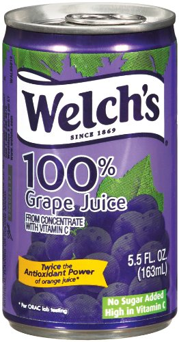 2. Welch's 100% Juice, Concord Grape