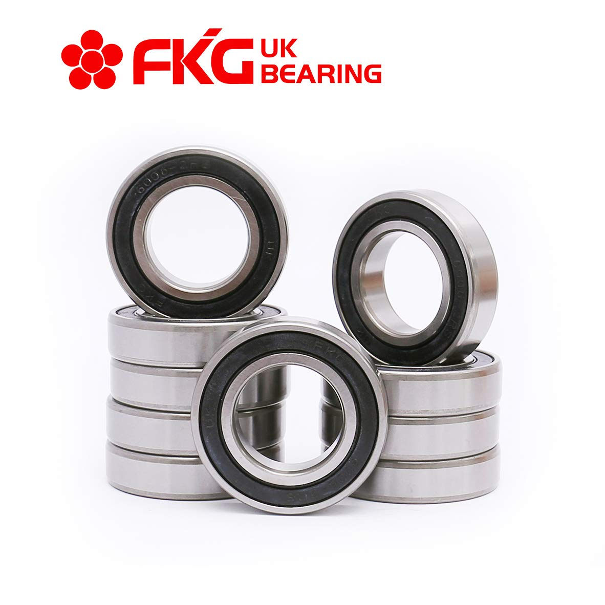 FKG 6006-2RS 30x55x13mm Deep Groove Ball Bearing