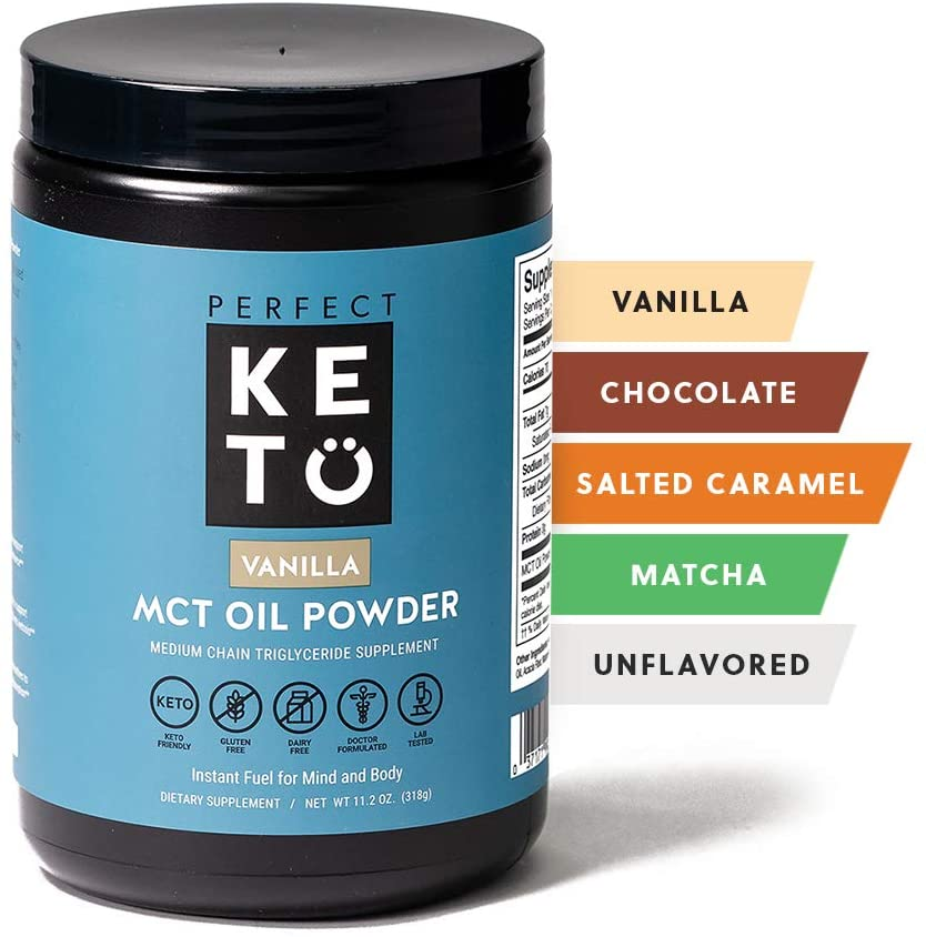 2. Perfect Keto Non Dairy Coffee Creamer