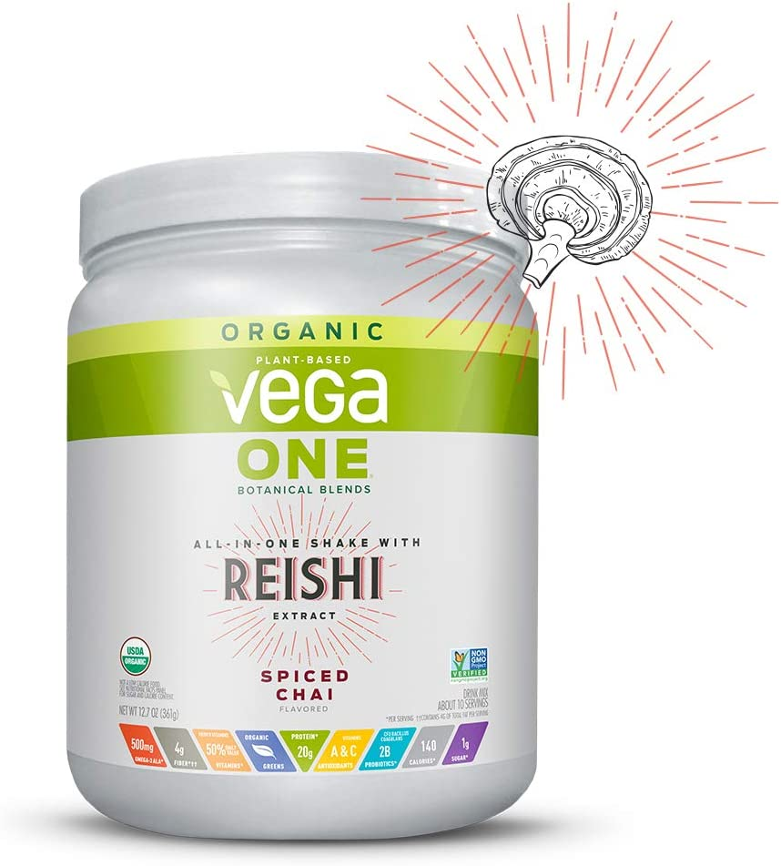 Vega One Organic Botanical Blends Spiced Chai with Reishi