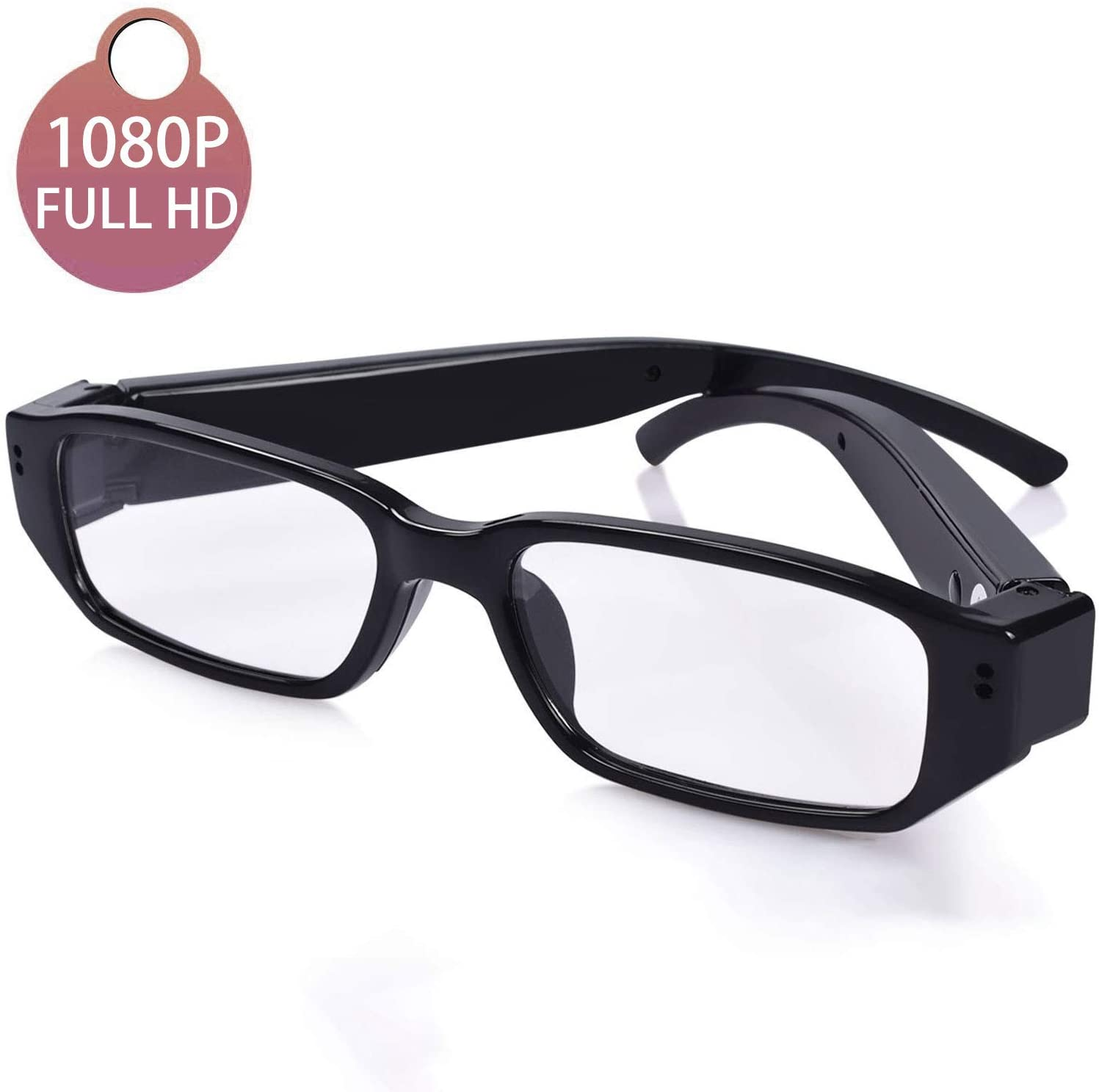 5. [Upgraded] Sukia 1080P Full HD Spy Camera Glasses