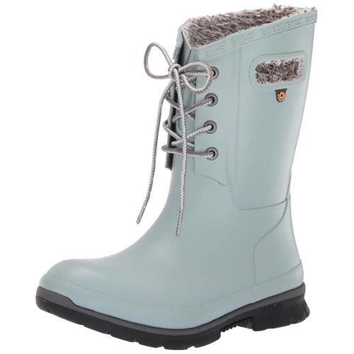 BOGS Women's Amanda Plush Lace Up Waterproof Insulated Snow