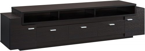 ioHOMES Coley Modern 3-Drawer TV Stand | Long Bookshelf