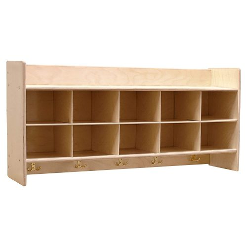 Contender Wall Hanging Storage Without Trays – RTA | Long Bookshelf