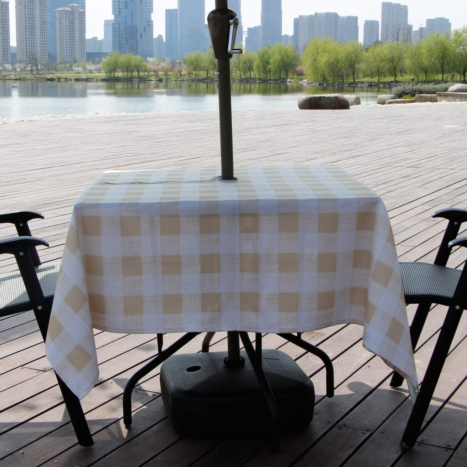 Aoohome Square Summer Table Cloth | Picnic Table Clothes