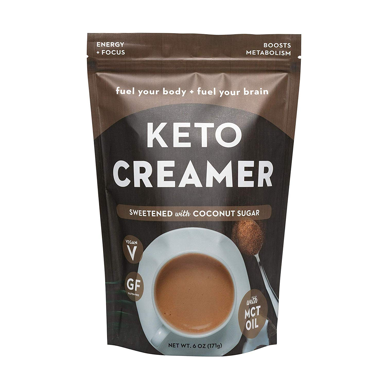 10. 360 Nutrition KETO Creamer with MCT Oil