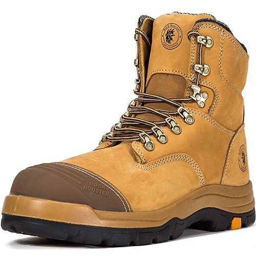 ROCKROOSTER Work Boots for Men - Winter Shoes