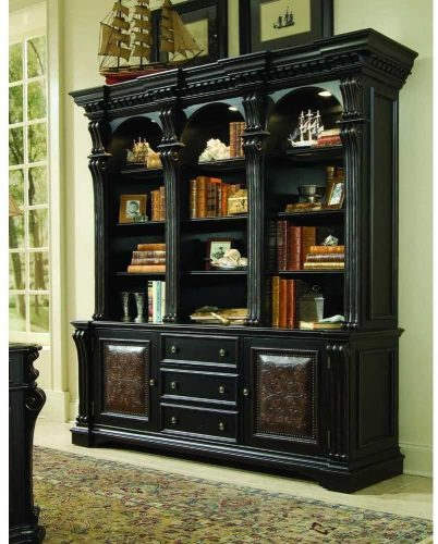 Hooker Furniture Telluride 3 Drawer Bookcase | Wall Unit Bookcase
