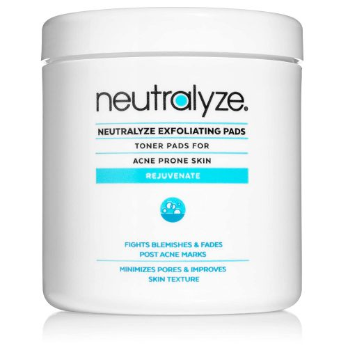 Neutralyze Exfoliating Pads | Product For Blackheads