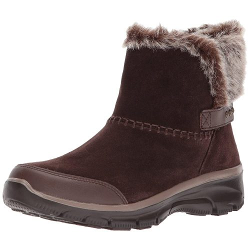 Skechers Easy Going-Quantum Ankle Bootie - Heated Boots