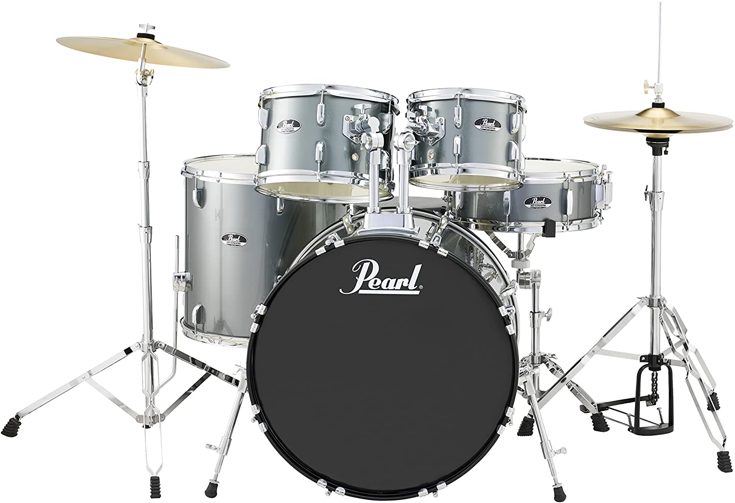 Pearl RS525SCC706 Roadshow 5-Piece Drum Set | Drums For Beginner