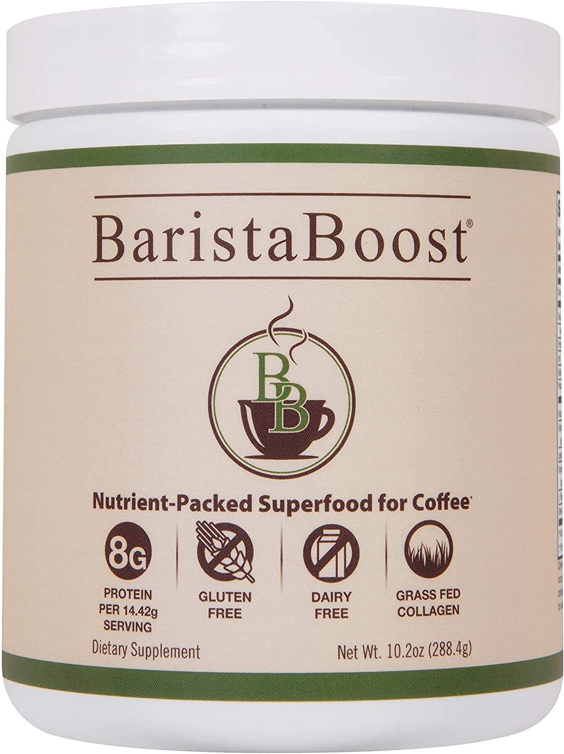1. BaristaBoost - Premium Superfood for Coffee