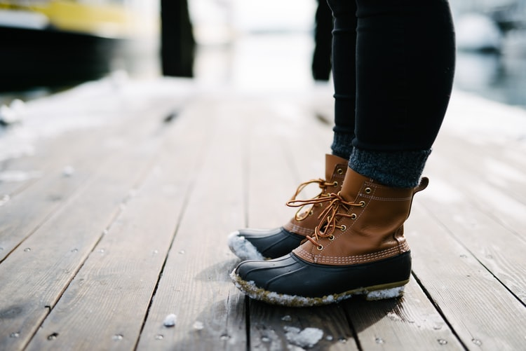 Snow Boots For Women With Ice Grip