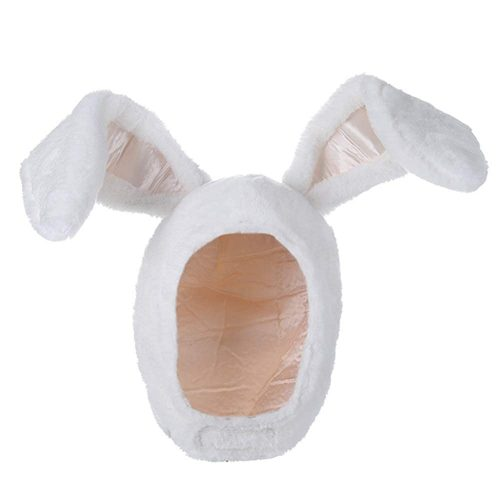 6. YARUODA Plush Fun Bunny Hat