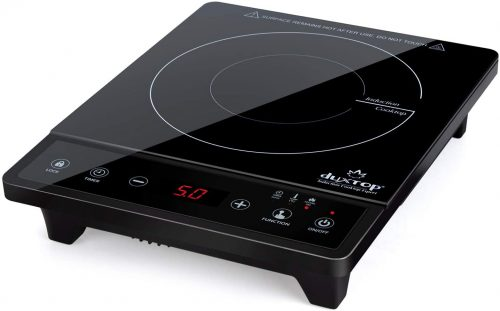 Duxtop Portable Induction Cooktop | Infrared Cooker