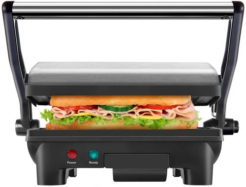 6. Chefman Electric Panini Press Grill and Gourmet Sandwich
