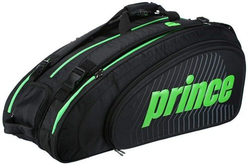 9. Prince Tour Slam 12 Pack Racquet Bag Green/Black