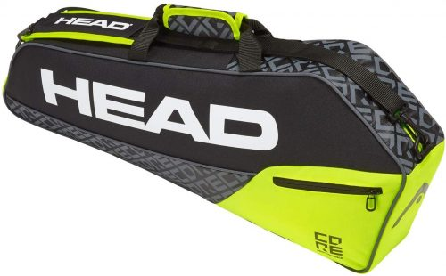 4. HEAD Core Pro 3R Tennis/Squash/Badminton Racquet Bag