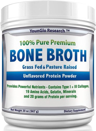 YounGlo Research Bone Broth Protein Powder