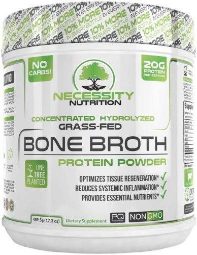 Necessity Nutrition Bone Broth Protein Powder