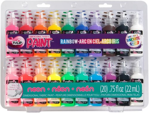 Tulip Dimensional Fabric Paint Party Pack