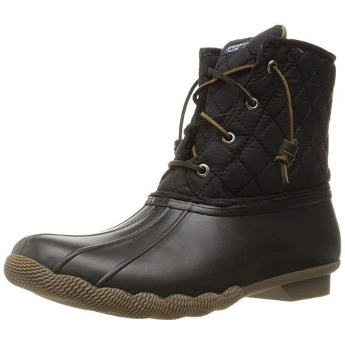 Sperry Top-Sider Women's Saltwater Boots - Black Boots