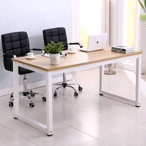"Mecor 43"" Large MDF Computer Office Desk PC Laptop Table 