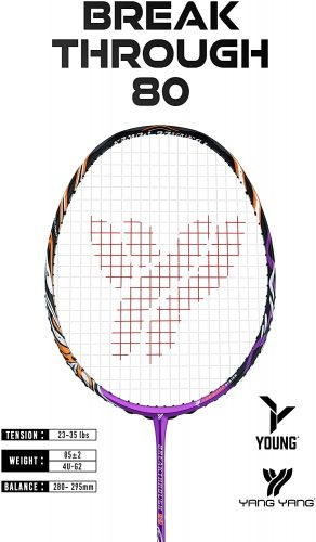 Young Professional Badminton Racket Lightweight