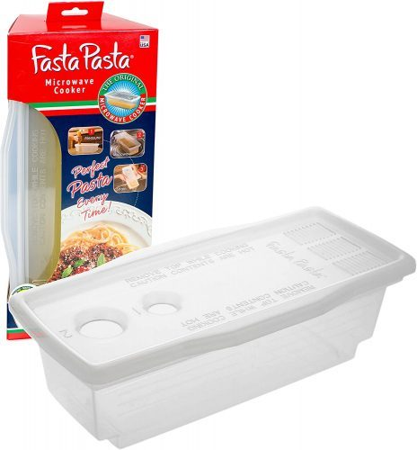Microwave Pasta Cooker - The Original Fasta Pasta - No Mess