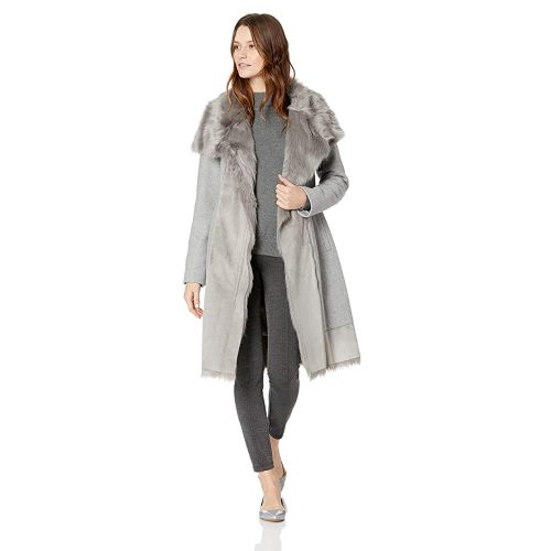 Vince Camuto Women's Wool Coat  | Fur Clothing