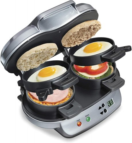4. Hamilton Beach Dual Breakfast Sandwich Maker