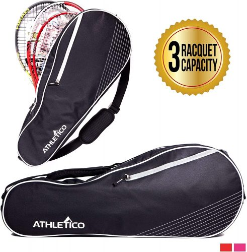 2. Athletico 3 Racquet Tennis Bag