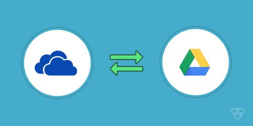 The concept of Google Drive and One Drive