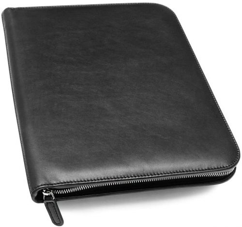 Maruse Personalized Italian Leather Executive Padfolio
