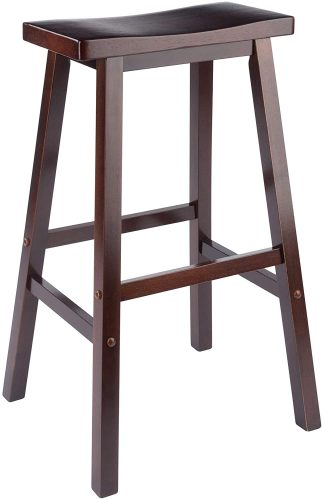 "Winsome 94089 Satori Stool, 29"", Walnut"